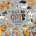 Buch *Stitch 50 Cats* Schnittmusterbuch Katzenrassen Easy Sewing Patterns Katzen D&C21-0002