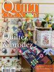 Patchwork Magazin Quilt Country 32 - Quiltez & brodez!