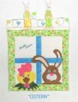 Materialpackung Wandquilt Ostern 12 x 12 Inch Hase und Huhn MP21-0073