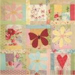 BOM L069 - Butterfly Garden - Block 9 - Leanne Beasley