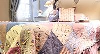 Kostenlose Nähanleitung Tagesdecke Quilt