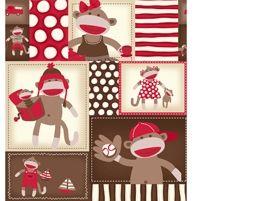 Patchworkstoff Stoff Quilt Affenbilder Monkey Around 22449 AR