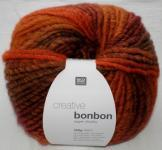 Creative Bonbon Super Chunky Wolle Rico multi orange 100g
