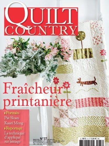 Patchwork Magazin Quilt Country 37 - Fraîcheur printanière