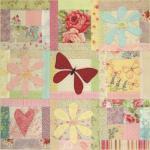 BOM L067 - Butterfly Garden - Block 7 - Leanne Beasley