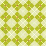 Patchworkstoff Stoff Quilt grün und beige Vierecke mit weißen Streifen