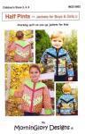 Nähanleitung Half Pint Jacket Patchwork Anleitung für Boys und Girls