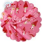 Patchworkstoff Stoff Quilt Serie SUNRISE Glückspilz rosa 140cm