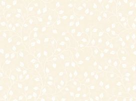 Patchworkstoff Quilting Illusions Beige Leaves