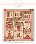 A Woodland Christmas Quilt Anleitung 1,57m x 1,83m