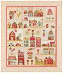 Nähanleitung `Tiny Town` Quilt Anleitung 1,32m x 1,52m