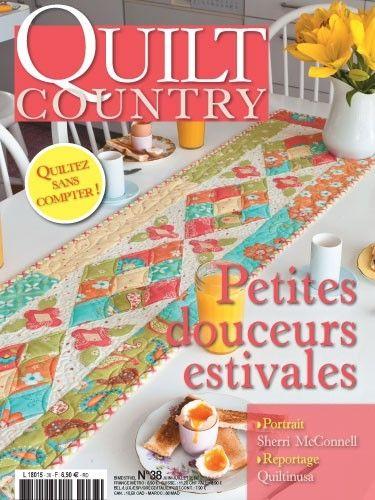 Patchwork Magazin Quilt Country 38 - Petites douceurs estivales