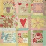 BOM L064 - Butterfly Garden - Block 4 - Leanne Beasley