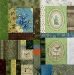 Gundis Garden Quilt Block 9 Nähanleitung