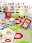 Anleitungsbuch `Quilted Table Accents` von Annie