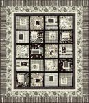 Kostenlose Nähanleitung Quilt Around the Blocks
