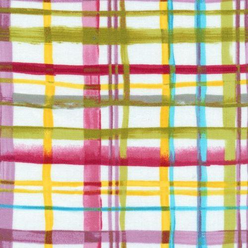 Charleston Patchworkstoff Quilt Karos, multicolor