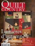 Patchwork Magazin Quilt Country 33 - Lumieres dautomne!