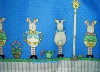Patchworkstoff Ostern Daisy Kingdom # 1006