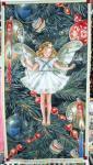 Patchworkstoff Elfe, Flower Fairy Panel, Weihnachten; 60x112cm